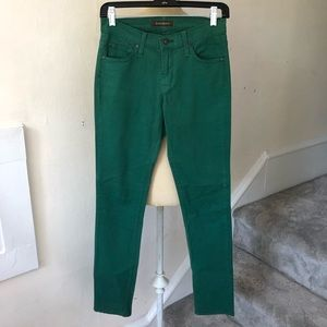 James Jeans Emerald Brushed Twill Randi Pencil Leg